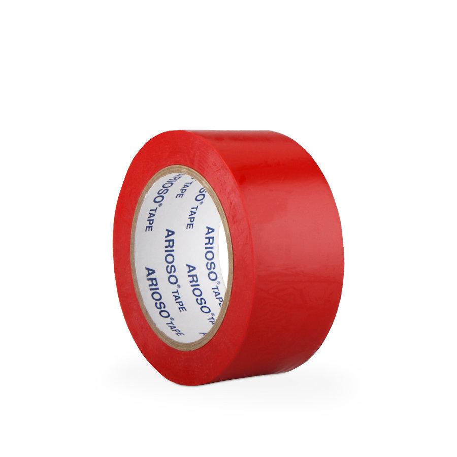 Červená vyznačovací podlahová páska 01 - délka 33 m a šířka 5 cm
