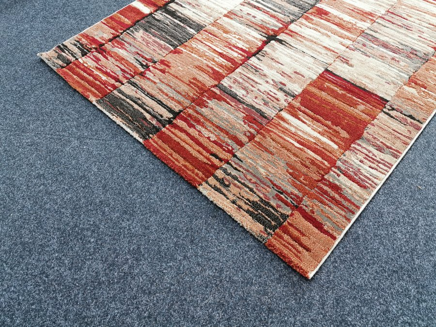 Béžovo-hnědý koberec - délka 230 cm a šířka 160 cm