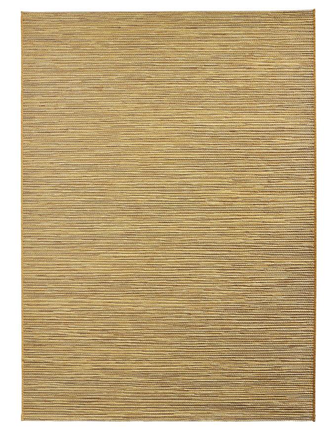Hnědý kusový koberec Lotus - délka 170 cm a šířka 120 cm