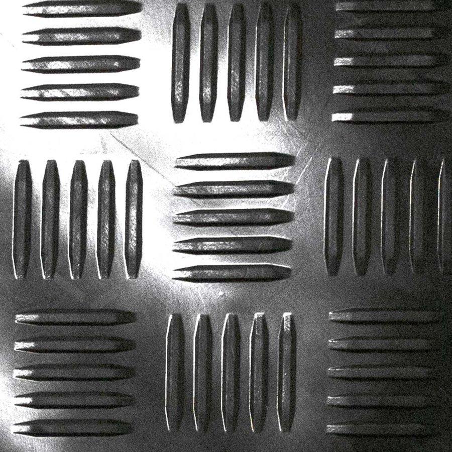 Černá gumová průmyslová protiúnavová olejivzdorná ESD antistatická metrážová rohož - šířka 100 cm