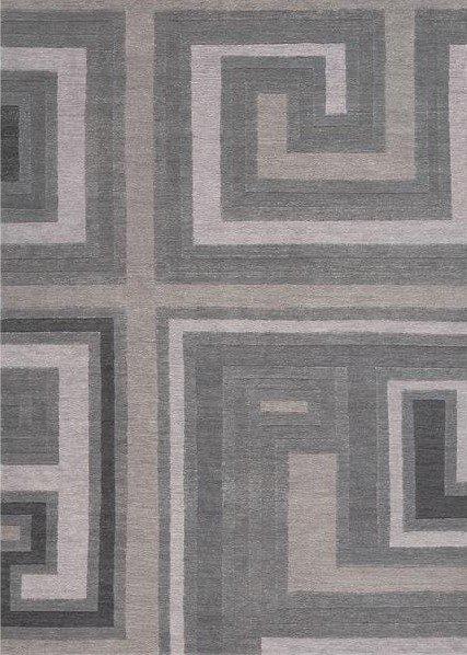 Šedý kusový luxusní moderní koberec Love