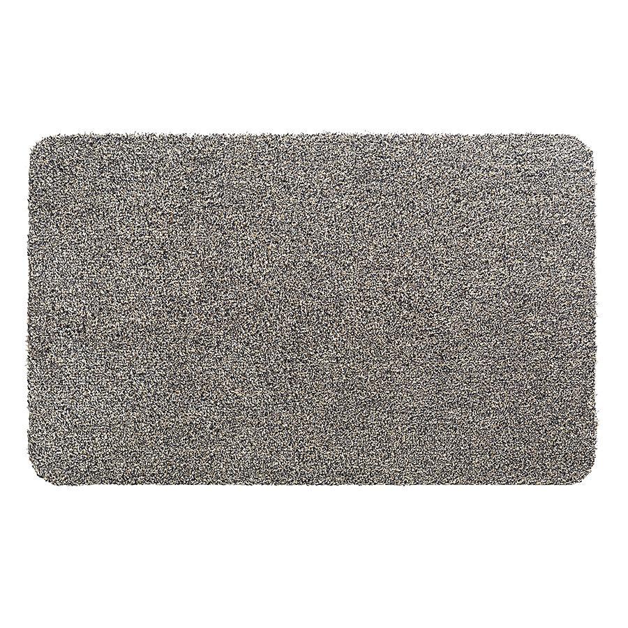 Béžová metrážová čistící vnitřní vstupní pratelná rohož Aqua Luxe, FLOMA - délka 1 cm
