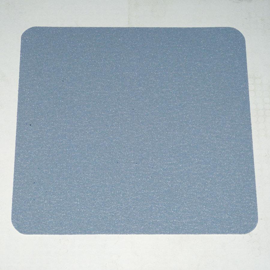 Šedá korundová protiskluzová samolepící podlahová páska (dlaždice) - délka 24 cm a šířka 24 cm