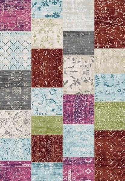 Hnědý moderní kusový koberec Velvet - délka 290 cm a šířka 195 cm
