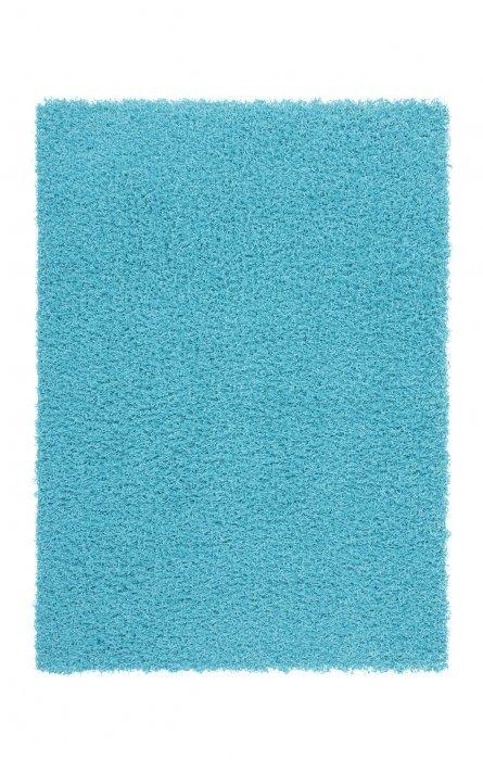 Modrý kusový koberec Funky - délka 60 cm a šířka 40 cm