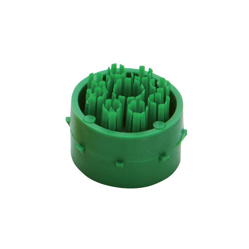Zelený plastový čistící kartáček pro rohože Octomat, Octomat Elite