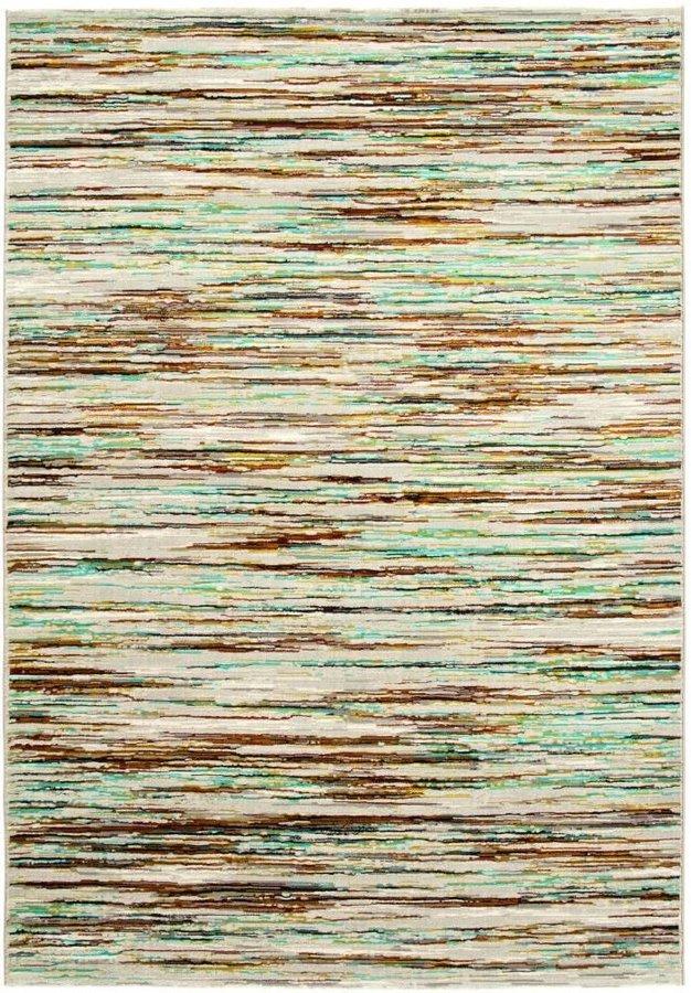 Béžový moderní kusový koberec Patina - délka 230 cm a šířka 160 cm