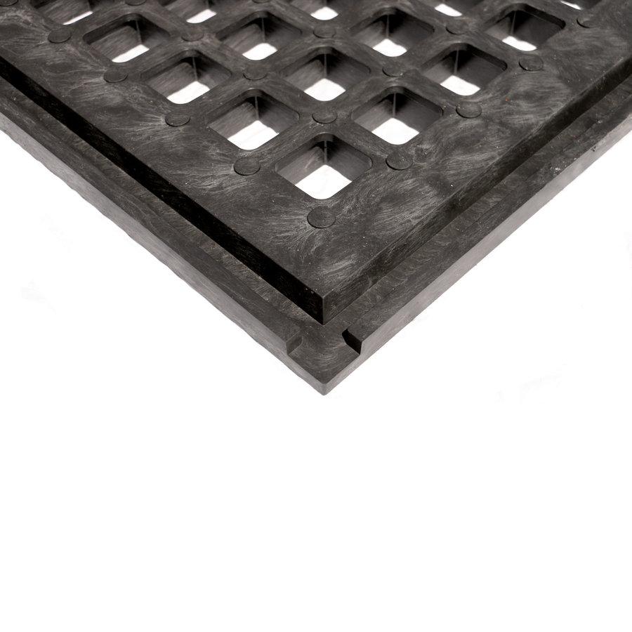 Plastová zátěžová zatravňovací dlažba - délka 80 cm, šířka 60 cm a výška 4,3 cm
