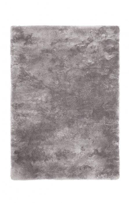 Šedý kusový koberec Curacao - délka 170 cm a šířka 120 cm