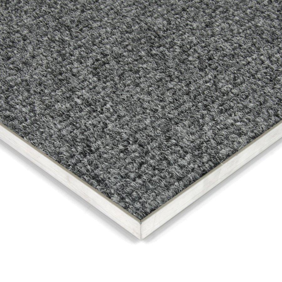 Šedá kobercová vnitřní čistící zóna Catrine, FLOMAT - délka 1 cm, šířka 1 cm a výška 1,35 cm