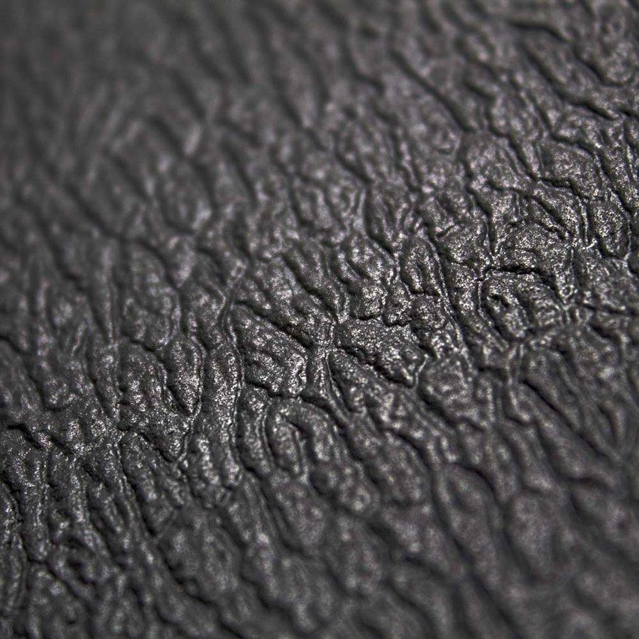 Černá protiskluzová protiúnavová průmyslová pěnová rohož - délka 150 cm, šířka 90 cm a výška 0,9 cm