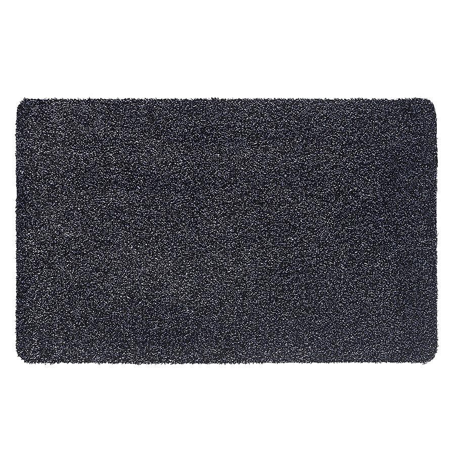 Grafitová metrážová čistící vnitřní vstupní pratelná rohož Aqua Luxe, FLOMA - délka 1 cm a výška 1,2 cm