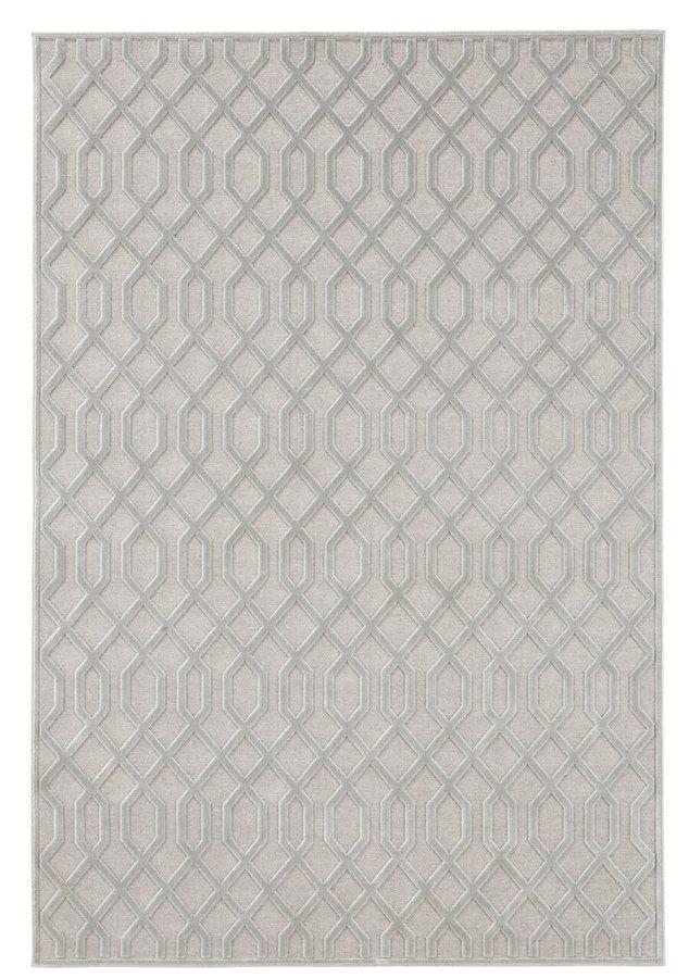 Šedý moderní kusový koberec Caine, Mint Rugs - délka 125 cm a šířka 80 cm