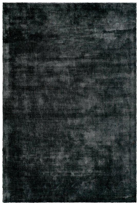 Černý kusový koberec Breeze of Obsession - délka 150 cm a šířka 80 cm