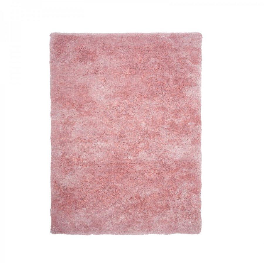 Růžový kusový koberec Curacao - délka 150 cm a šířka 80 cm