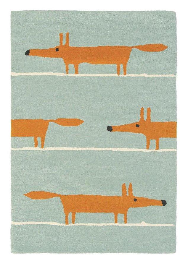 Béžový moderní kusový koberec Mr. Fox - délka 200 cm a šířka 140 cm