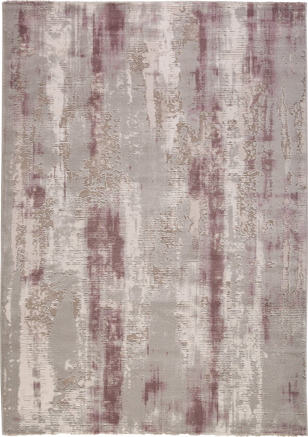 Hnědý moderní kusový koberec Bolero - délka 170 cm a šířka 120 cm