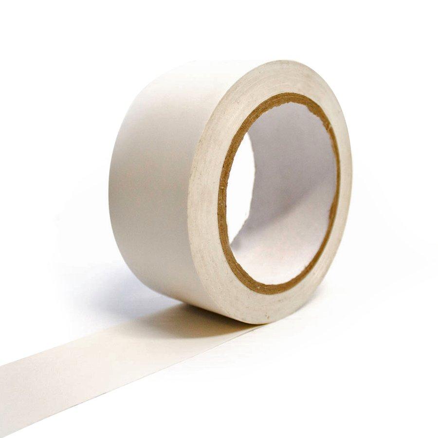 Bílá vyznačovací samolepící podlahová páska - délka 33 m a šířka 5 cm