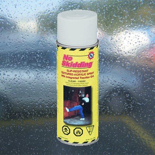 Průhledný akrylový protiskluzový sprej