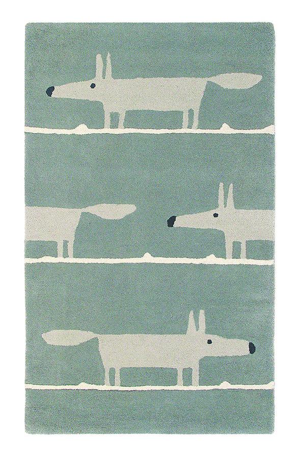 Šedý moderní kusový koberec Mr. Fox - délka 180 cm a šířka 120 cm