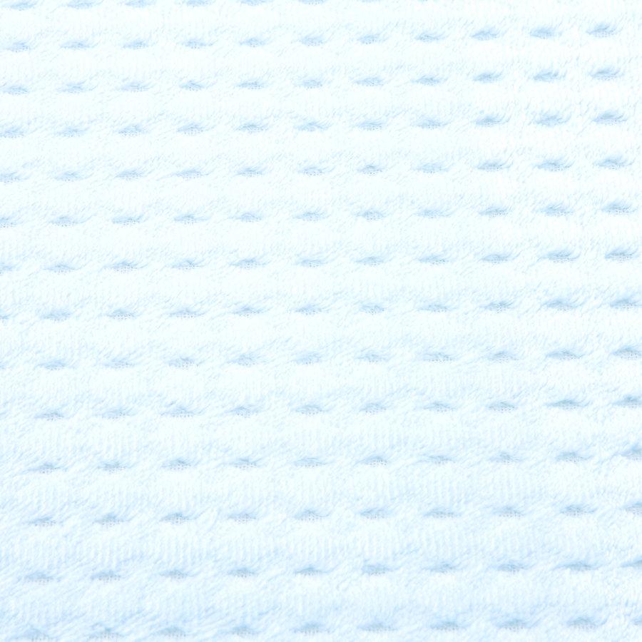 Modrá pěnová koupelnová předložka - délka 81 cm a šířka 51 cm