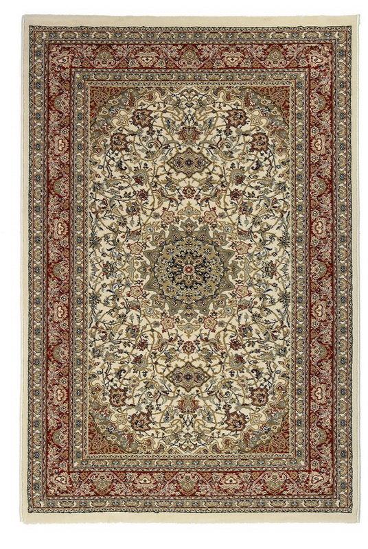 Béžový kusový orientální koberec Tashkent - délka 285 cm a šířka 200 cm