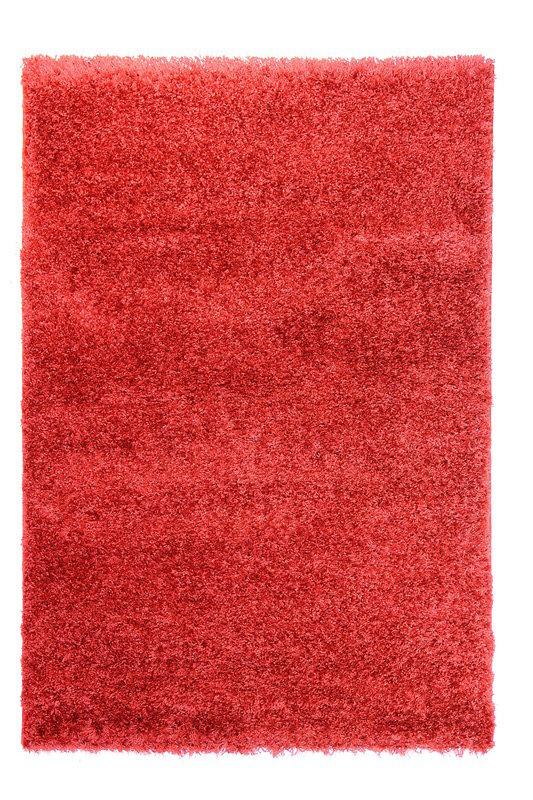 Červený kusový koberec Bursa - délka 150 cm a šířka 80 cm