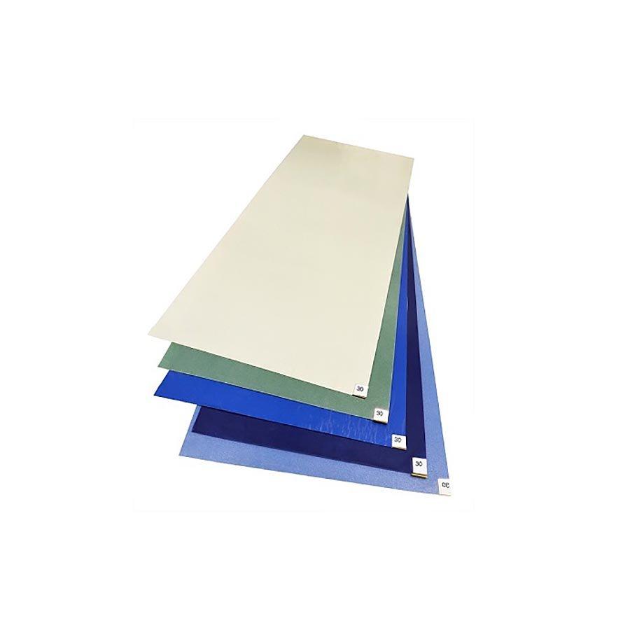 Modrá dezinfekční lepící antibakteriální dekontaminační rohož FLOMA Biomaster Antibacterial Sticky Mat - šířka 115 cm - 30 listů