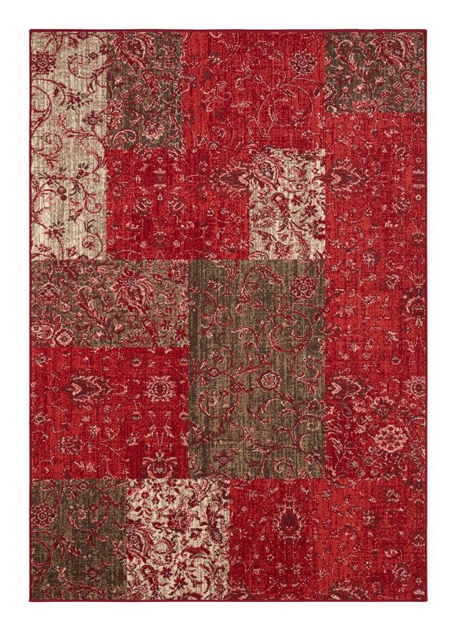 Červený kusový koberec Celebration, Kirie