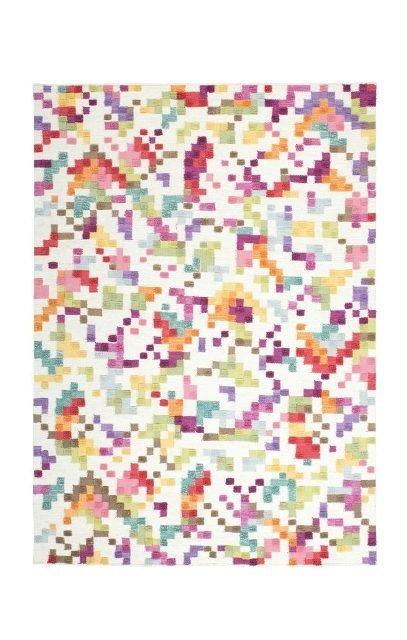 Různobarevný kusový koberec Indigo