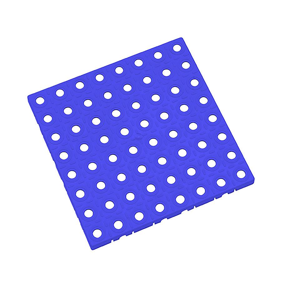 Modrá plastová modulární dlaždice AvaTile - délka 25 cm, šířka 25 cm a výška 1,6 cm