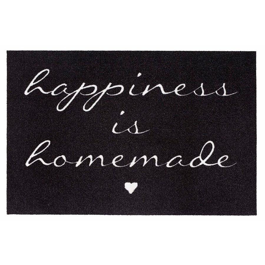 Vnitřní čistící vstupní rohož FLOMA Mondial Happiness - délka 50 cm a šířka 75 cm