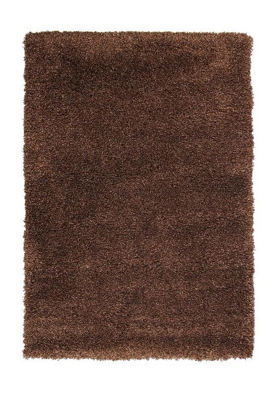 Hnědý kusový koberec Fusion - délka 200 cm a šířka 140 cm
