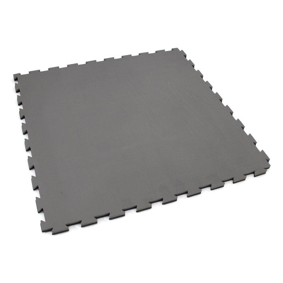Černo-šedé oboustranné puzzle modulové tatami SPARTAN SPORT - délka 100 cm, šířka 100 cm a výška 2 cm