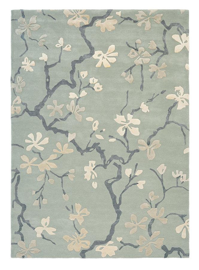 Šedý kusový moderní koberec Anthea