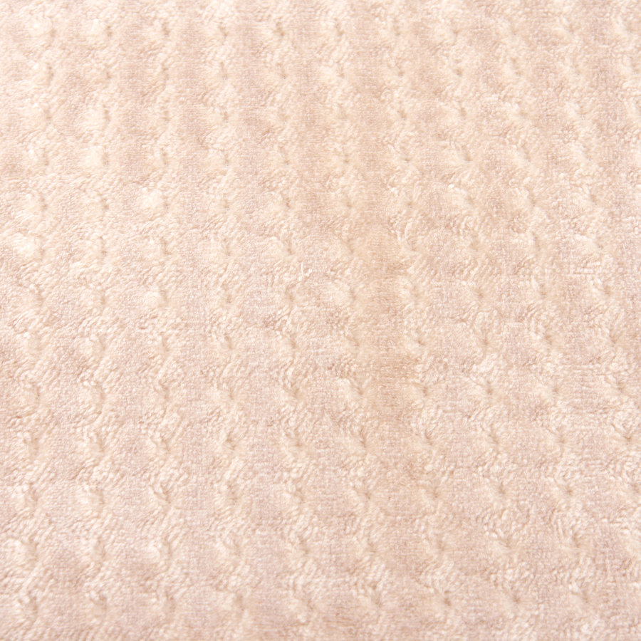 Béžová pěnová koupelnová předložka - délka 81 cm a šířka 51 cm