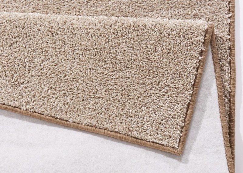 Béžový kusový koberec Pure - délka 150 cm a šířka 80 cm