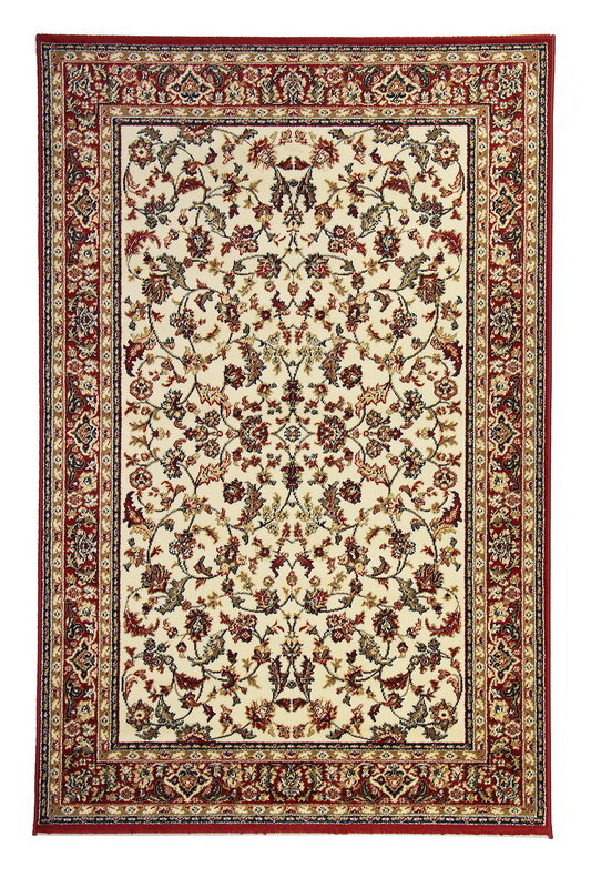 Červený orientální kusový koberec Solid New - délka 200 cm a šířka 130 cm
