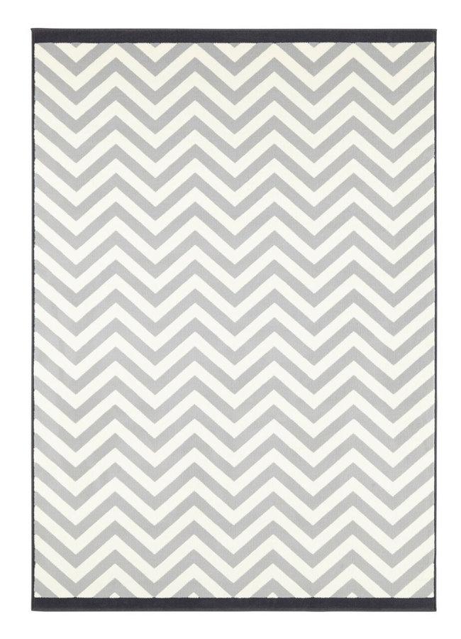 Šedý kusový koberec Meridian, Celebration - délka 170 cm a šířka 120 cm