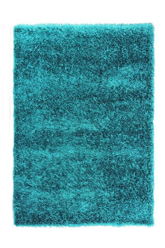 Modrý kusový koberec Bursa