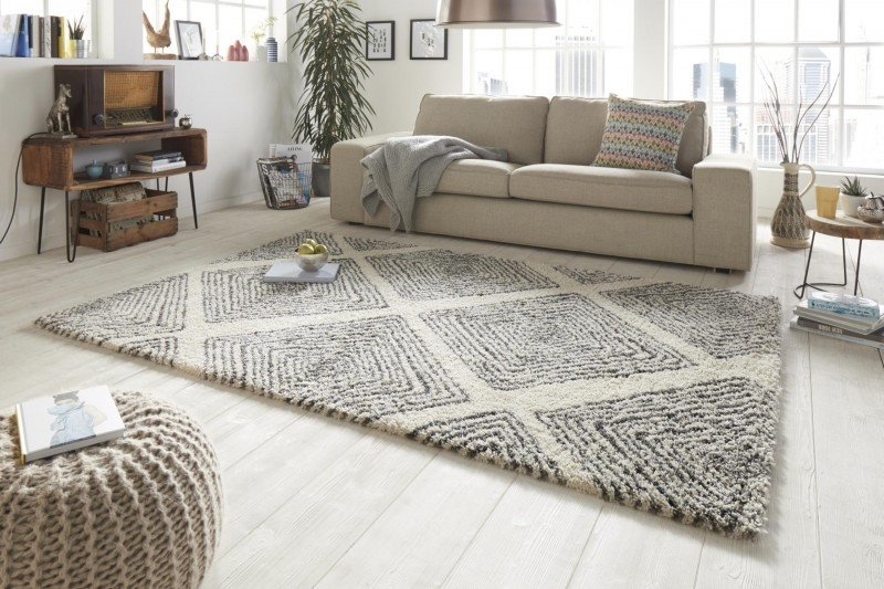 Béžový kusový moderní koberec Allure - délka 230 cm a šířka 160 cm
