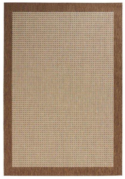 Hnědý kusový koberec Natural - délka 290 cm a šířka 200 cm
