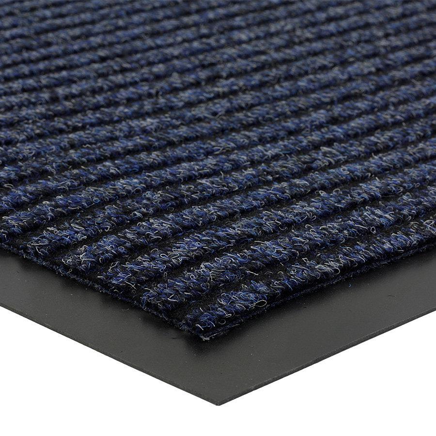 Modrá čistící vnitřní vstupní rohož FLOMA Everton - výška 0,6 cm