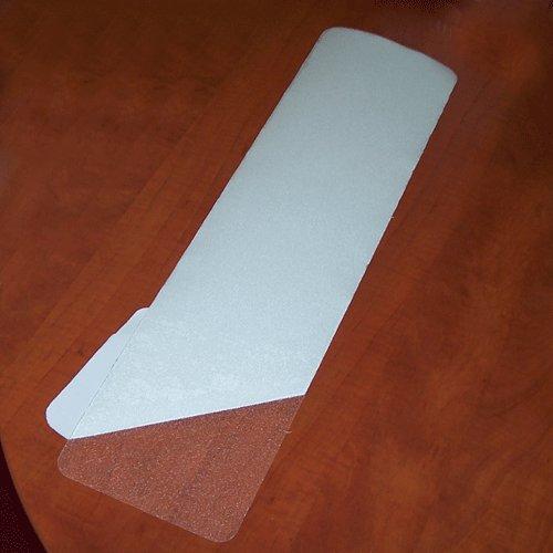 Vinylová protiskluzová průhledná samolepící podlahová páska (pás) - délka 61 cm a šířka 15,2 cm