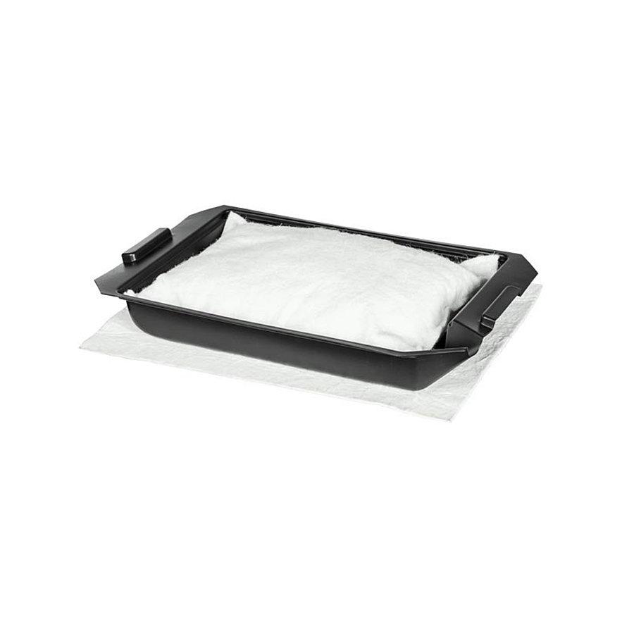 Plastová úkapová vana se sorpčním polštářem - délka 77 cm, šířka 50 cm a výška 11 cm