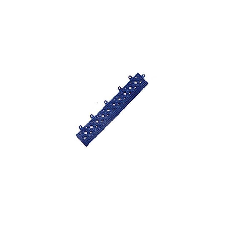 Modrá náběhová hrana pro dlaždice Lok-Tyle - délka 30,5 cm, šířka 5 cm a výška 1,43 cm