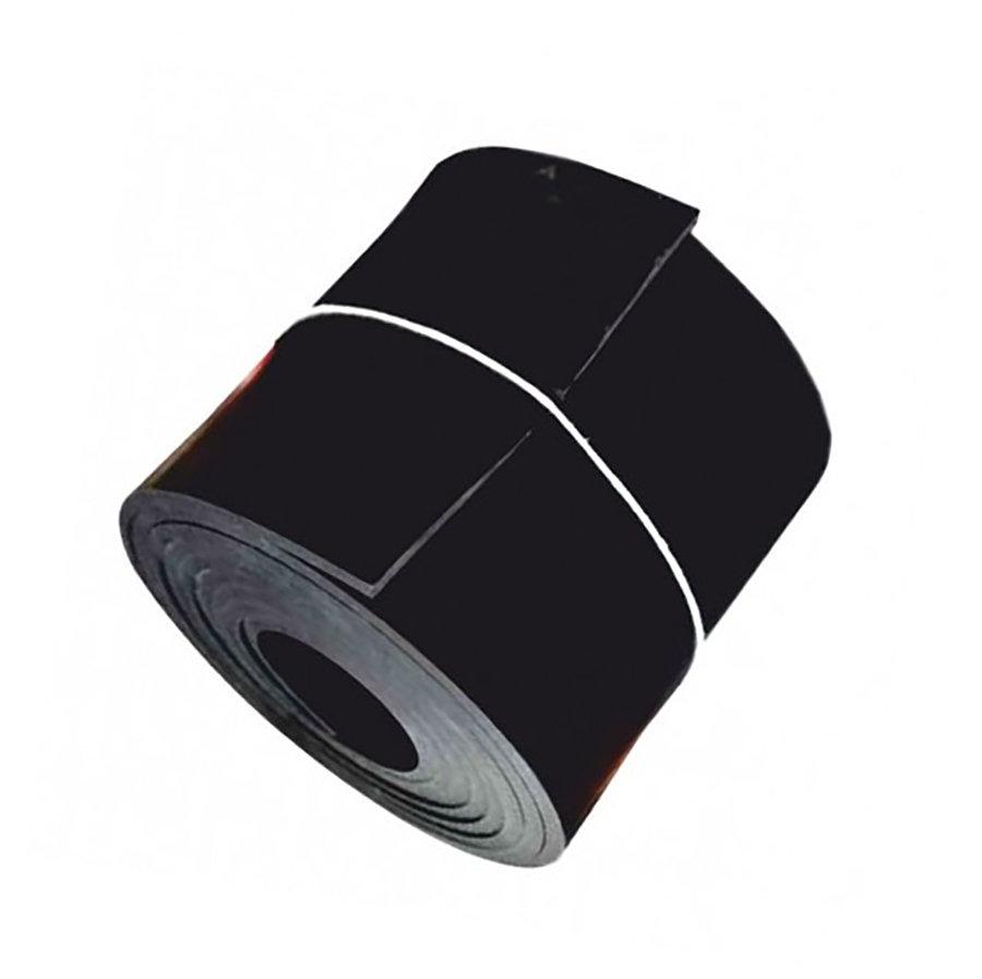 Černá pryžová NBR deska - šířka 120 cm a výška 1 cm