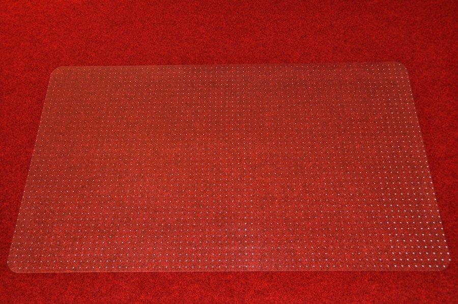 Čirá podložka pod židli na koberec - délka 183 cm, šířka 120 cm a výška 0,3 cm