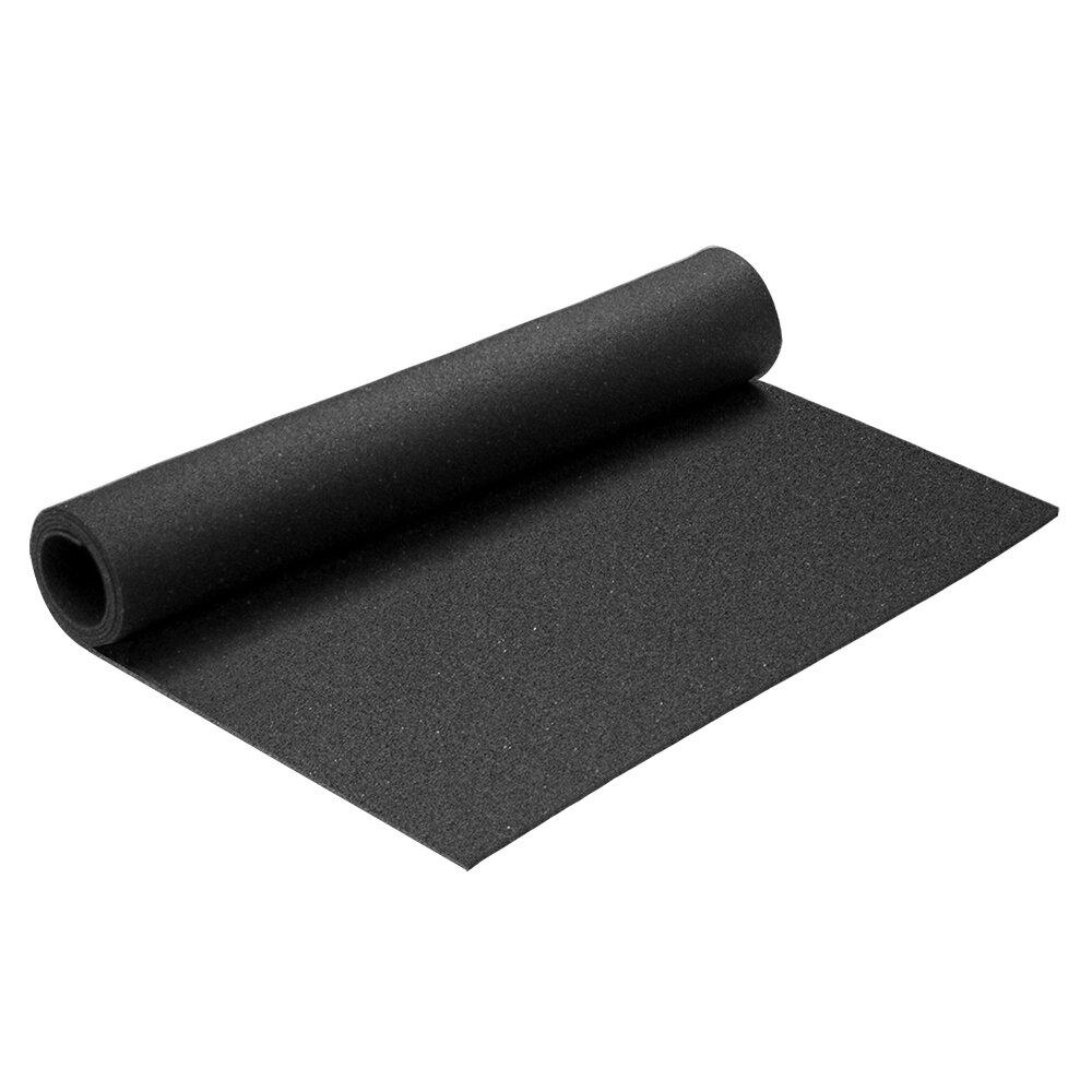 Gumová univerzální podlahová rohož FLOMA - délka 140 cm, šířka 60 cm a výška 0,3 cm