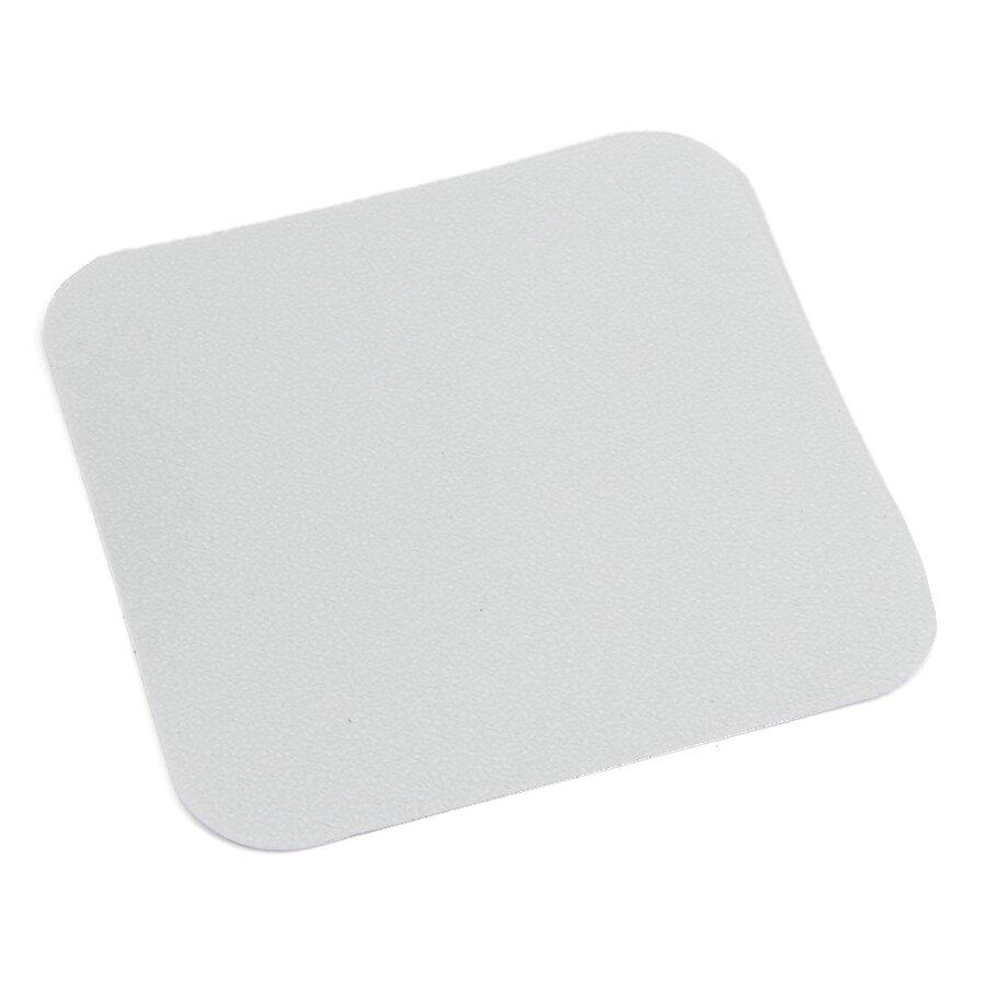 Plastová protiskluzová průhledná voděodolná podlahová páska - délka 14 cm, šířka 14 cm a tloušťka 0,7 mm